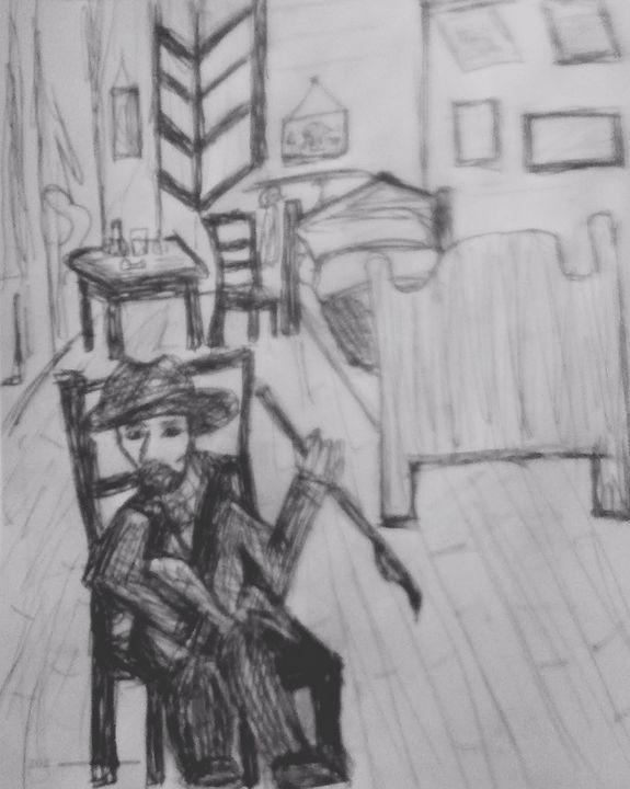 Vangoth in his room - ...Tosha ..