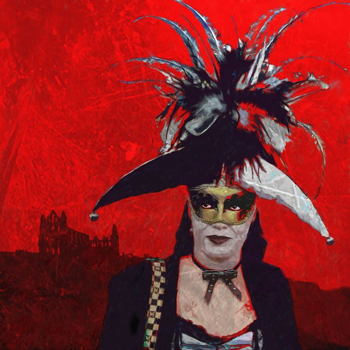 Goth Weekend Whitby - Bob Durnall Art