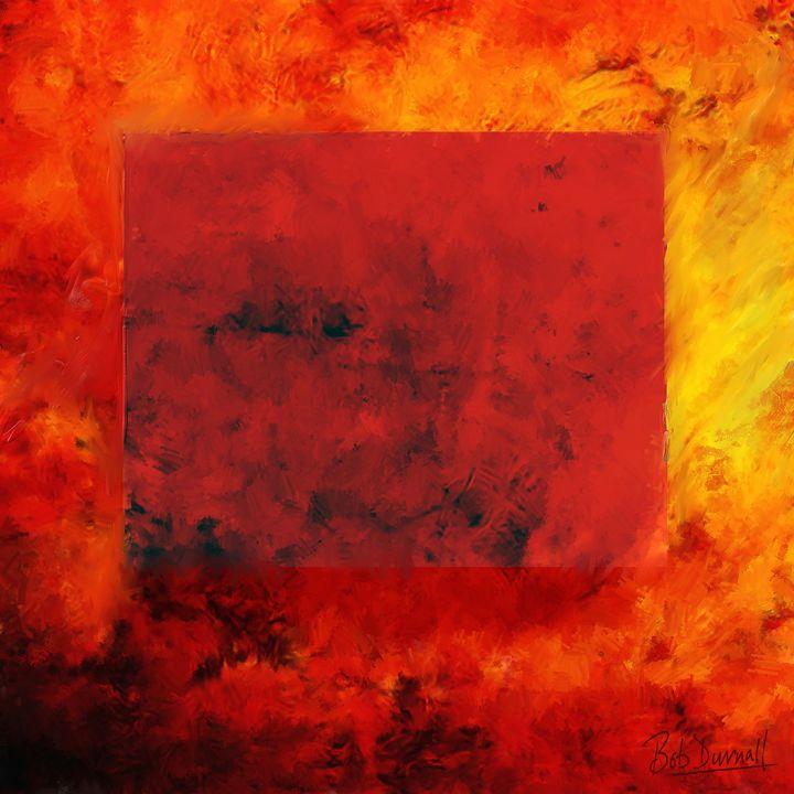 Red Inferno - Bob Durnall Art
