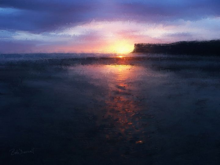 Huntcliff Sunrise - Bob Durnall Art