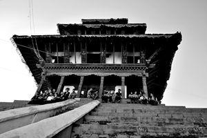 Afternoon in Kathmandu