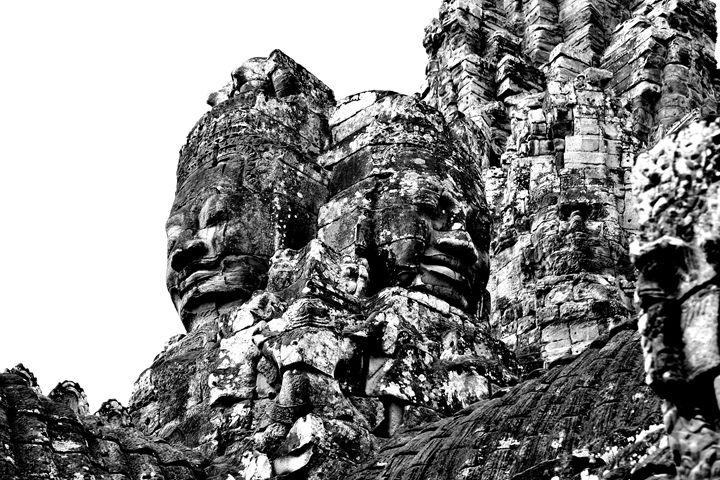 Face on Angkor Tom - Melnevsky