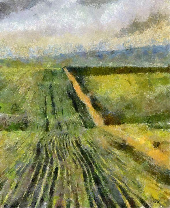 Spring field - FORTUNA ART