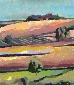 Tuscan summer - FORTUNA ART