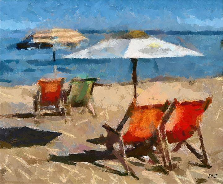 Italian Beach - FORTUNA ART