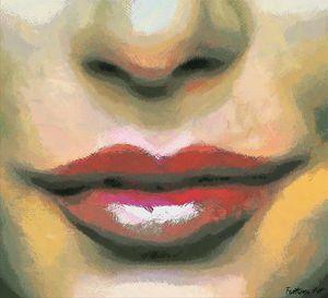 Tempting Lips - FORTUNA ART