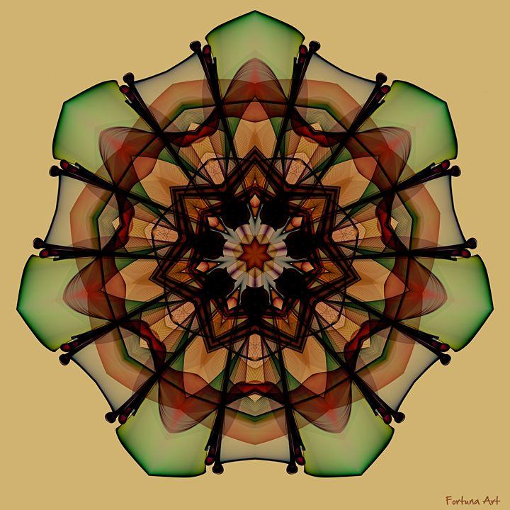 Autumn Mandala - FORTUNA ART