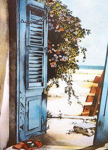 Back Door - Pomm Fine Art