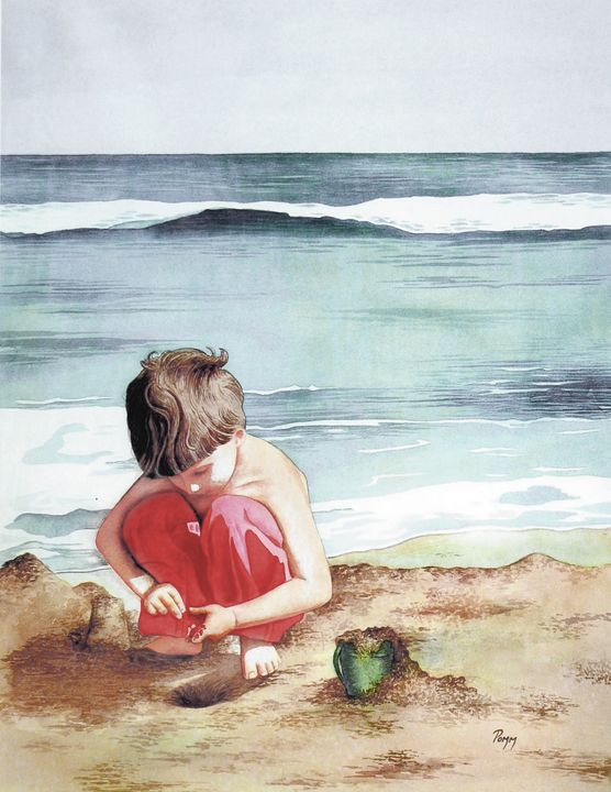 Beach Friend - Pomm Fine Art