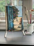Watercolor mini-canvas print