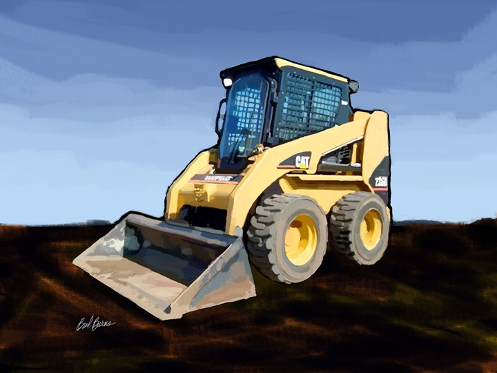 Caterpillar - Construction Fine Art