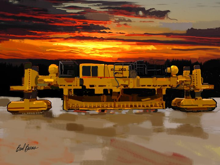 2008 Gomaco GHP-2800 Slip Form Paver - Construction Fine Art