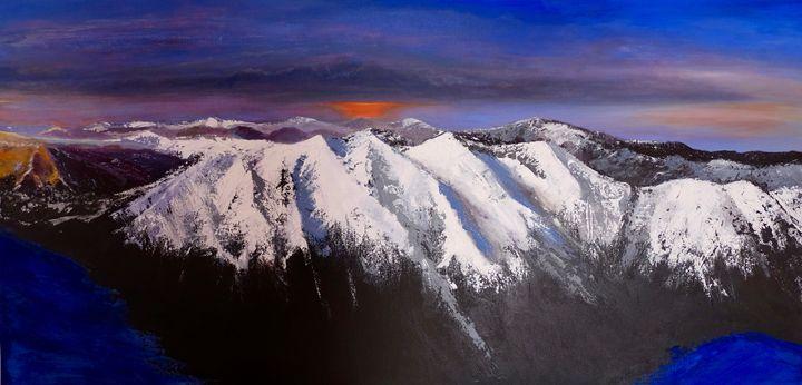 Rila Mountain - Bulgaria - Elitsa's paintings