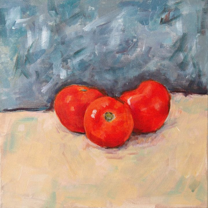 Still life - Fresh Tomatoes - Ianira's Artifacts