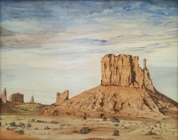 Lonesome Peaks - EC Pyro Art