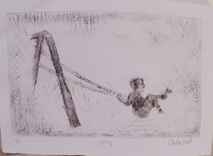 Swing: 1 of 3, Etching