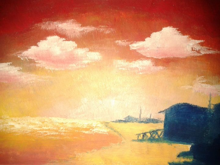Beachscape - Asad Leo Nisar