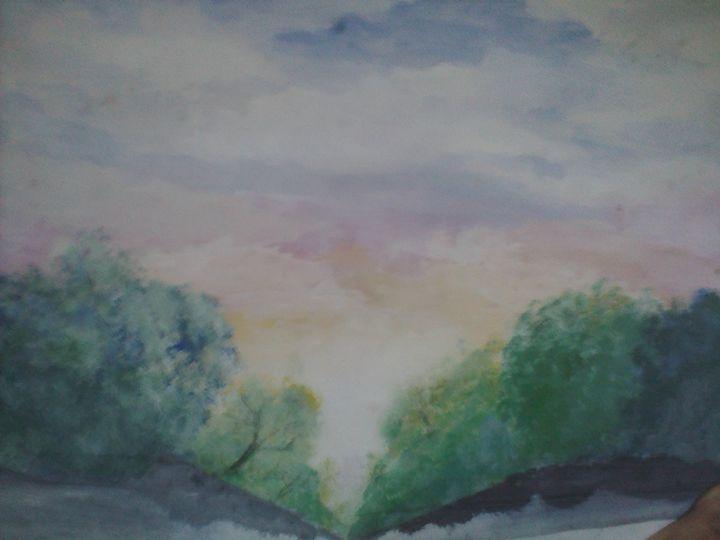 Summer Sunset - Asad Leo Nisar