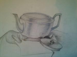 Tea Pot Still Life