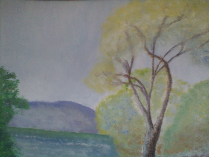 Trees by the Water - Asad Leo Nisar