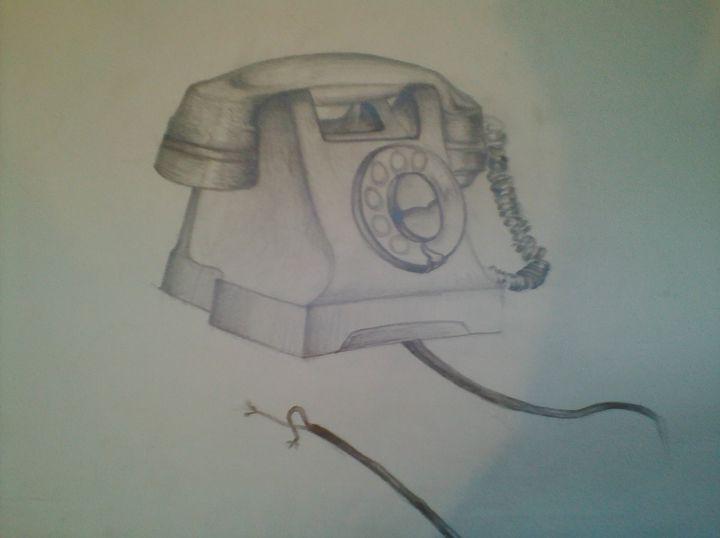 Old Telephone - Asad Leo Nisar