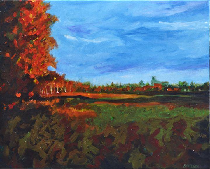 Autumn Sky - George Sielski