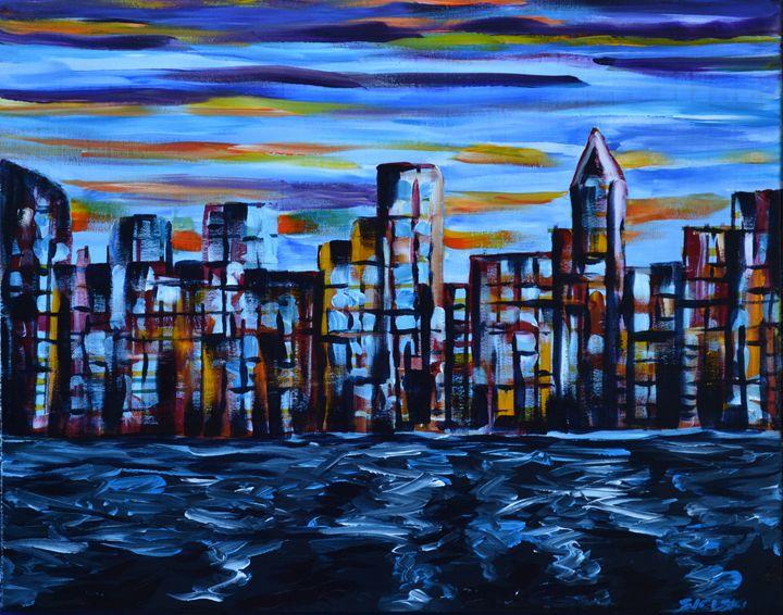 City Scape - George Sielski