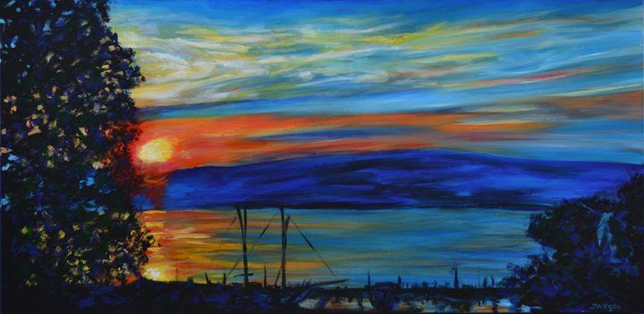 Evians Sunset - George Sielski