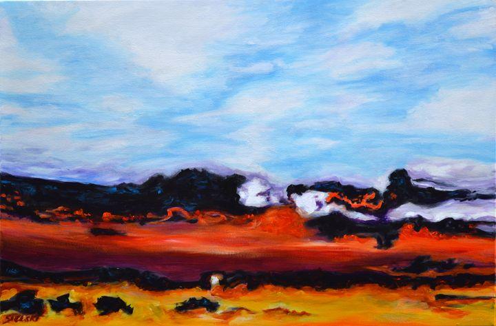 Inverted Autumn Sky - George Sielski