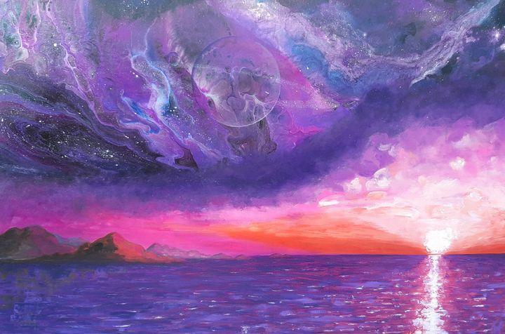Space and Sunset - Oksana Belkina