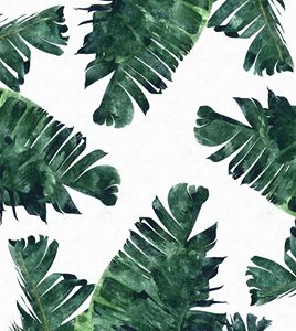 Banana Leaf Watercolor