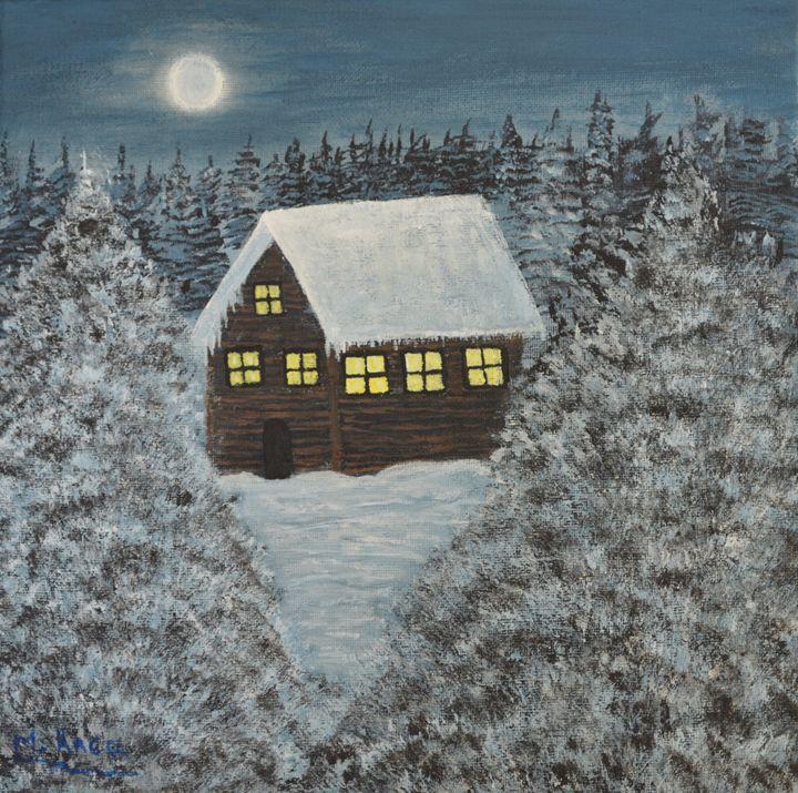Lovely winter night - M. Anca