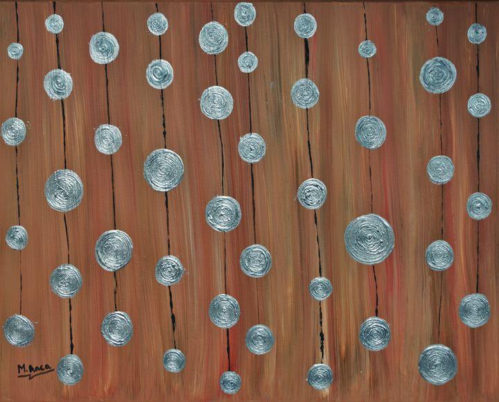 Silver circles - M. Anca