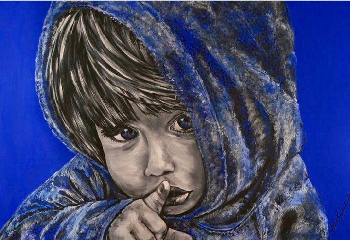 Shhhh - Doreen Karales Zonts Art at Home Studio