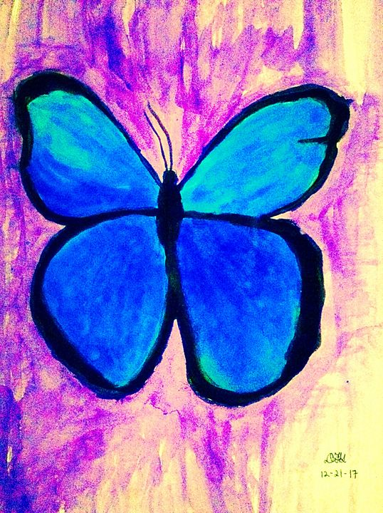 Blue butterfly - DFG