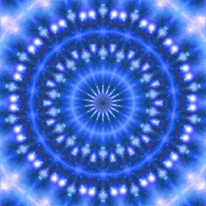 Sparkling Soul Mandala (blue) - NCL