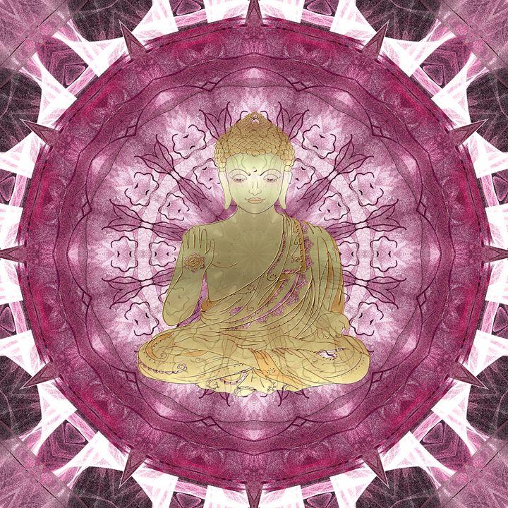 Golden Buddha Mandala (rose) - NCL