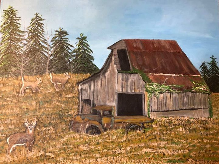 The Old Barn - Leah J Smith