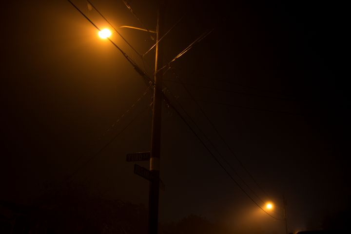 Street Lights in Fog - HBKiitsu Arts