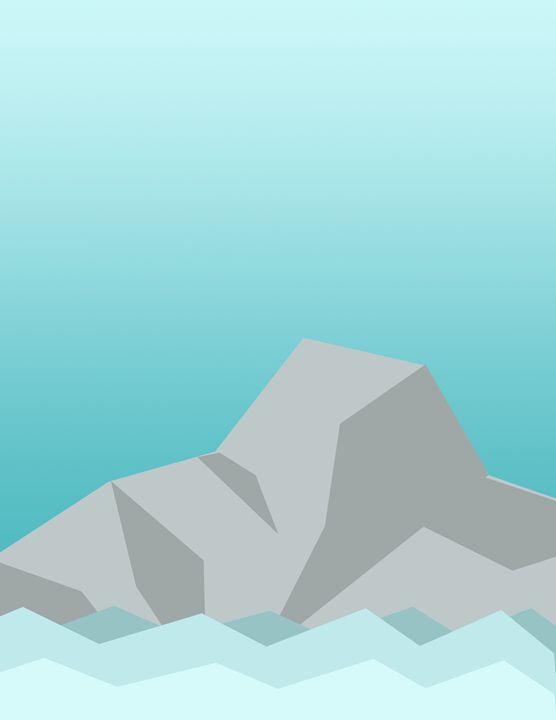 Minimalist Mountains and Water - HBKiitsu Arts