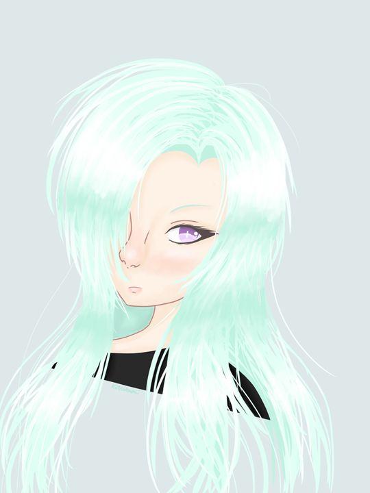 Comic-Style Girl - HBKiitsu Arts