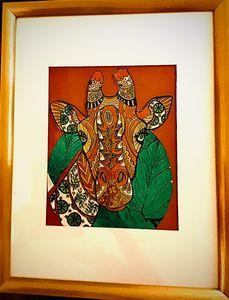 Giraffe - DickieBArtWorks