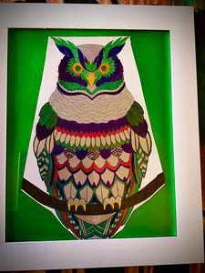 Owl - DickieBArtWorks