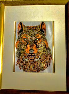 Wolf - DickieBArtWorks