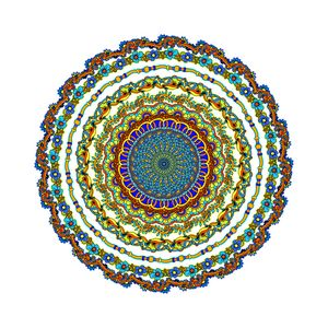 so pretty a mindful mandala