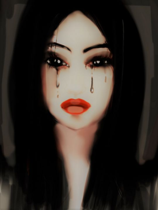 black-eyed tear - miss multifairy