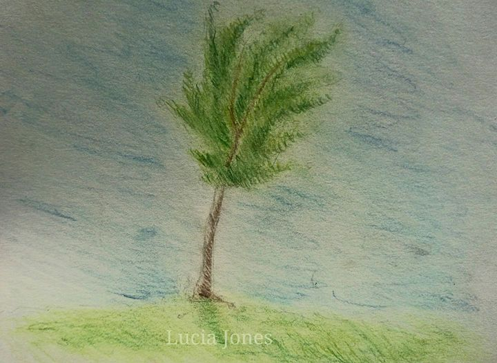 Lone Tree - Freespirit Art