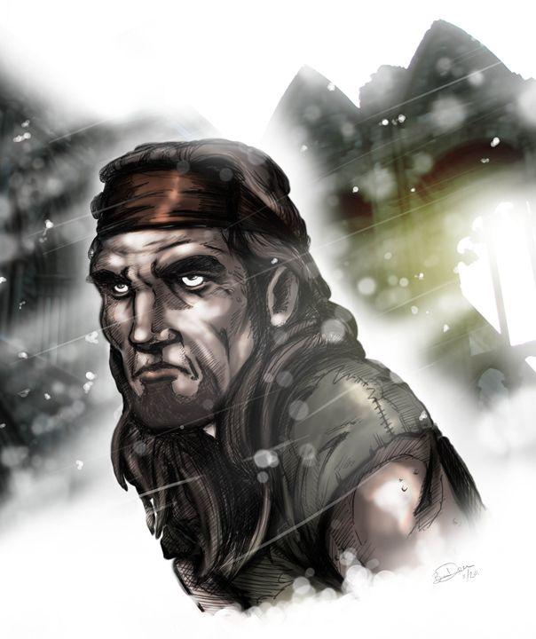Frost Warrior - Ben R Davis