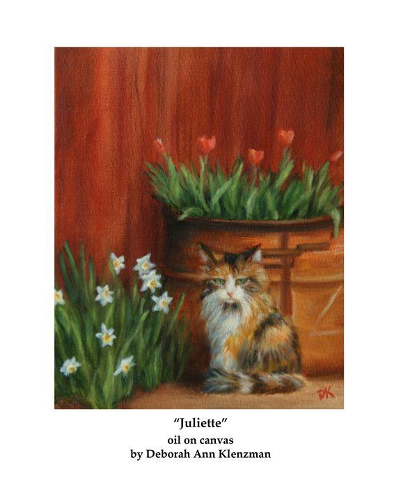 """Juliette"" art print - Progressive Portraits by Deborah Ann Klenzman"