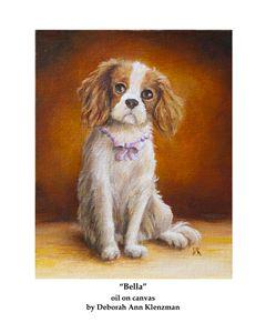 """Bella"" art print - Progressive Portraits by Deborah Ann Klenzman"